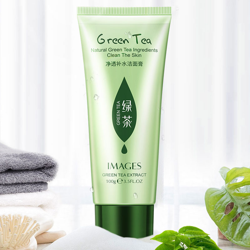 IMAGE Cleansing Moisturizing Facial Cleanser Moisturizing Rejuvenation Refreshing Oil Control Green Tea Cleanser