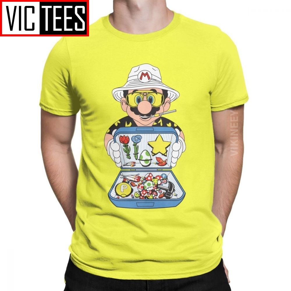Koopa Country Fear And Loathing In Las Vegas Tshirt Men Bat Country Drugs Cotton Tshirt
