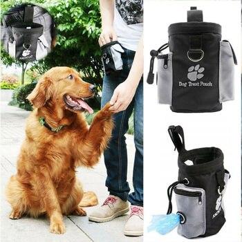 Новое поступление, собачий щенок, послушный тренировочный мешок для кормления, приманка для еды, мешочек для еды, пояс, Великобритания