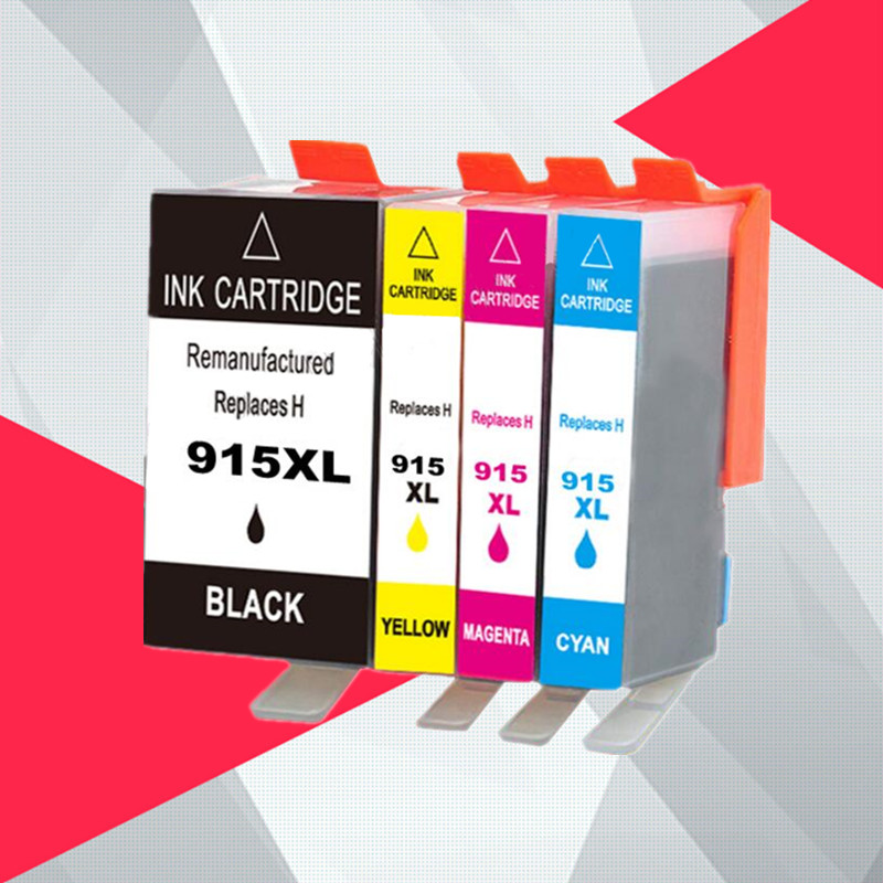 Ink Cartridges For HP 915XL Compatible For HP915 For HP 915 OfficeJet Pro 8010  8020 8025 8028