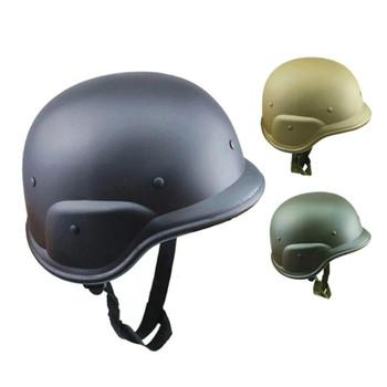 Kask hełm ochronny wojny światowej 2 niemieckie wojny hełmów stalowych niewyposażonych w armii na zajęcia na świeżym powietrzu jazda na rowerze z dżungli ochronne tanie i dobre opinie NONE CN (pochodzenie) Khaki Black Army green Unisex Field Jungle Helmet
