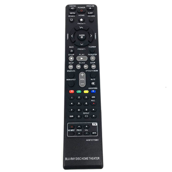 New Replacement Remote Control AKB73775801 For LG Blu-ray DISC Home Theater System DVD Home Cinema BH4030S BH5140 S65T3-S new original rm suxgn9vu for jvc home theater cinema audio remote control