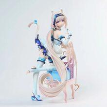 Nativa nekopara chocolate & baunilha azuki coco pvc figura de ação anime japonês figuras sexy modelo brinquedos coleção boneca presente