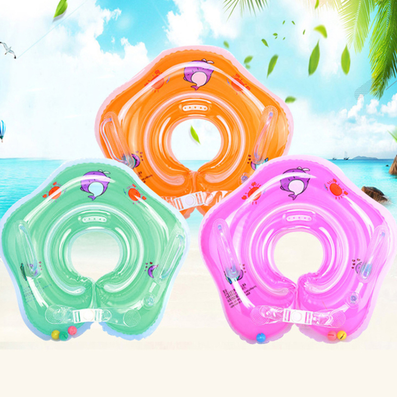 Sensible Newborn Baby Kids Infant Swimming Protector Neck Float Ring Safety Life Buoy Life Saver Neck Collar Swiming Inflatable Tube
