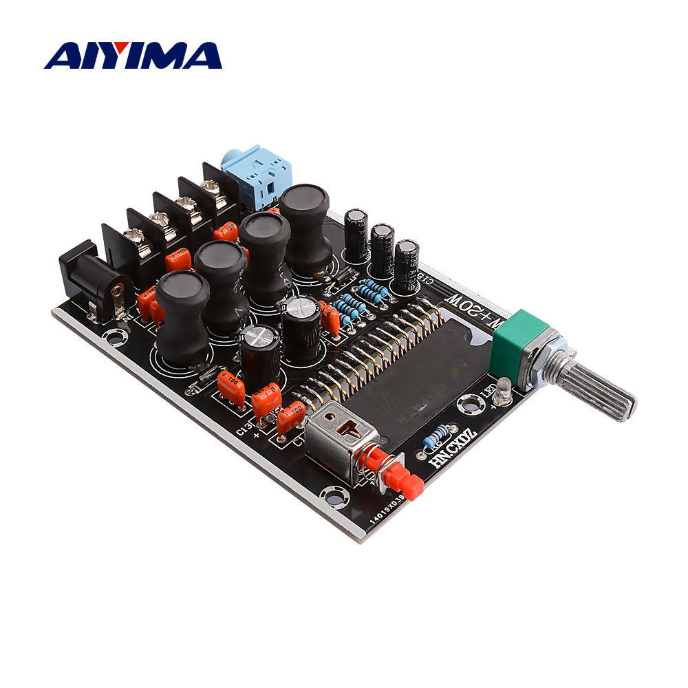 AIYIMA TA2020 Digital <font><b>Amplifier</b></font> <font><b>Audio</b></font> Board 20Wx2 Stereo Power Amplificador Class T Sound Speaker <font><b>Amplifier</b></font> Home Theater DC12V image