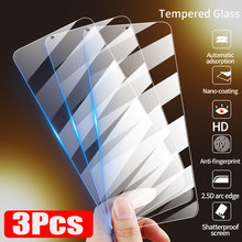 3Pcs Tempered Glass For Xiaomi Redmi Note 7 8 9 10 Pro 8T 9s Screen Protector For Redmi 7 7A 8A 9A 9C 10X Glass Protective Film