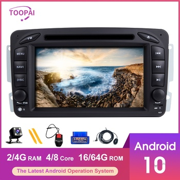 TOOPAI Android 10 For Mercedes Benz CLK W209 Vito W639 Viano Vaneo W463 W168 Auto Radio Multimedia Player GPS Navigation 2din image
