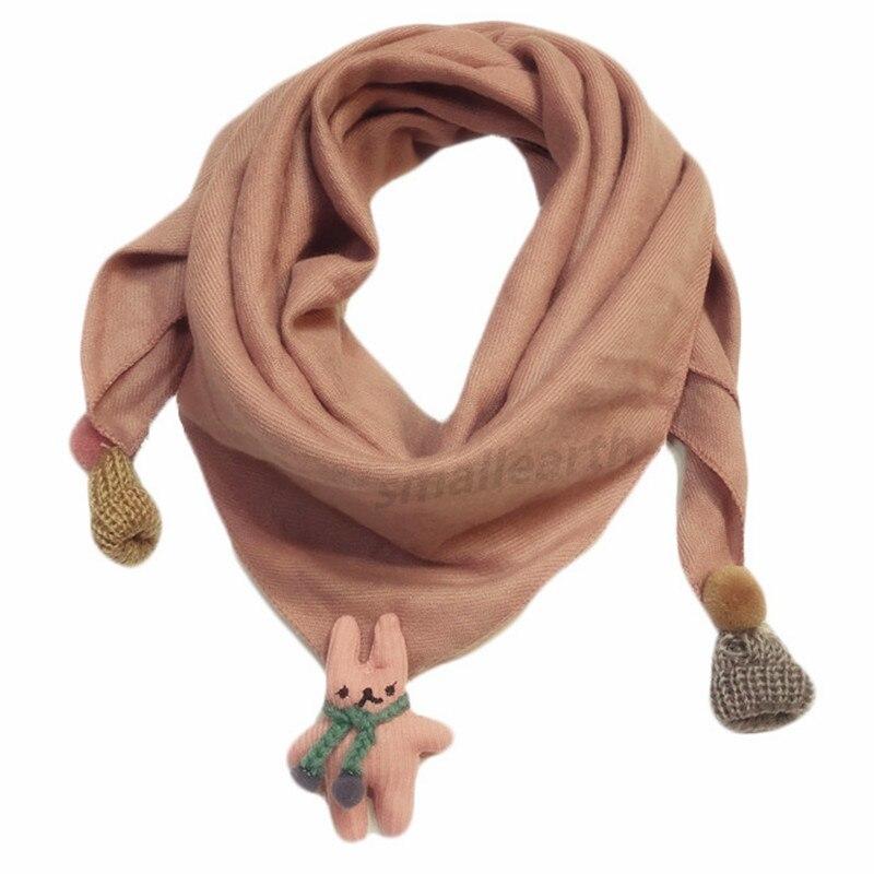 Весенние клетчатые треугольные шарфы в горошек для маленьких девочек; осенне-зимняя шаль для мальчиков и девочек; Детские хлопковые воротники; теплый детский шейный платок - Цвет: D3