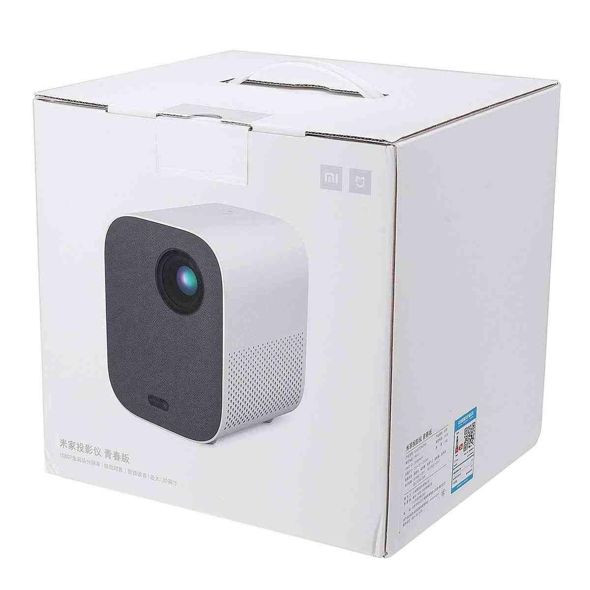 Xiaomi Mijia Projektor TV Full HD 1080P 30000 LED Lebensdauer DLP Wifi bluetooth sound Media Player Für Telefon Computer musik 3D