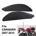 Для Honda CBR600RR 2007 2008 2009 2010 2011 2012 топливный бак для газа боковая защита наколенники тяговые колодки наклейки CBR600 CBR 600 RR