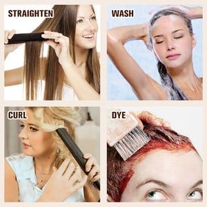 Image 5 - Tam parlaklık saç atkı görünmez makine Remy saç demetleri Balayage renk 100g cilt atkı çift atkı dikmek saç ekleme