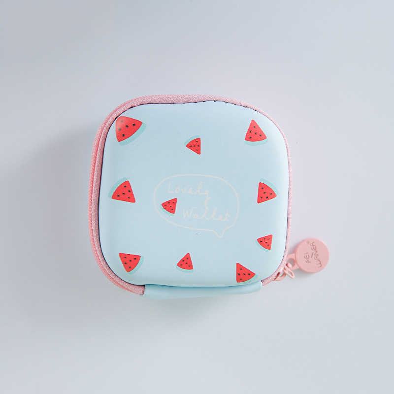 Kecil Dompet Koin Dompet Tas Headset Anak-anak Perempuan Mini Zipper Koin Kunci Earphone Baris Kantong Uang Tas untuk Headphone Pelindung kotak