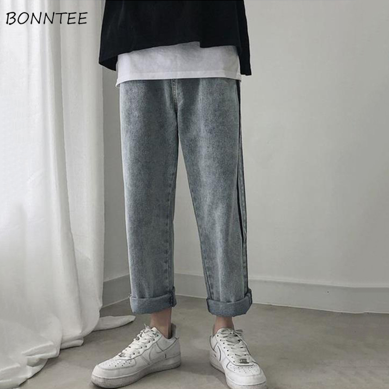 Jeans Women Loose Plus Size 3XL All-match Straight Harajuku Street Style Casual Boyfriend Unisex Chic New Ulzzang High Quality