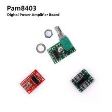 Pam8403 módulo placa amplificador de potência digital miniatura classe d placa amplificador de potência 2*3 w alta 2.5 supply 5 v usb fonte de alimentação