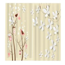 170*200cm Curtains For Living Room Bedroom Window Curtains Printed Balcony Sun Shading BJQ-1432
