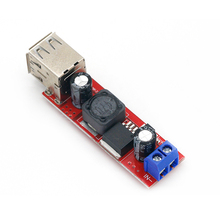 Converter-Module Vehicle-Charger LM2596 Dual-Usb Dc-Dc step-Down Double 5v 3a To