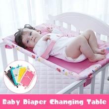 Детские пеленки пеленальные столики комод Топ для лучшего младенческого Пеленки Изменение нескользящая Нижняя безопасности ремень Регулируемый