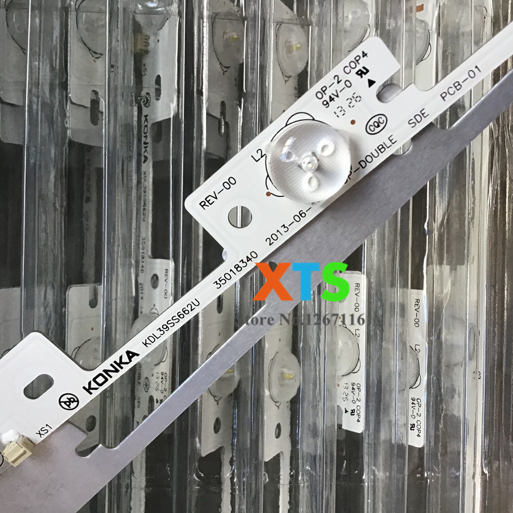 Image 2 - Aluminum 100 Pieces*4 LEDs*6V 327mm LED backlight bar for TV KDL39SS662U 35018339 KDL40SS662U 35019864 NEW-in Light Beads from Lights & Lighting