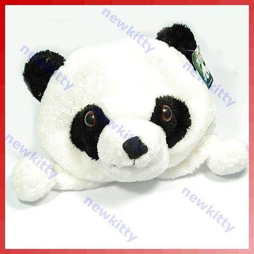 Hot Sale Cartoon Animal Cute Panda Earmuff Fluffy Plush Hat Cap LX9E