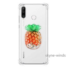Arena movediza transparente a prueba de golpes para Huawei P Smart Plus 2018/Nova 3i/P8 Lite 2017 PRA-LX1Case Clear protection contraportada(China)