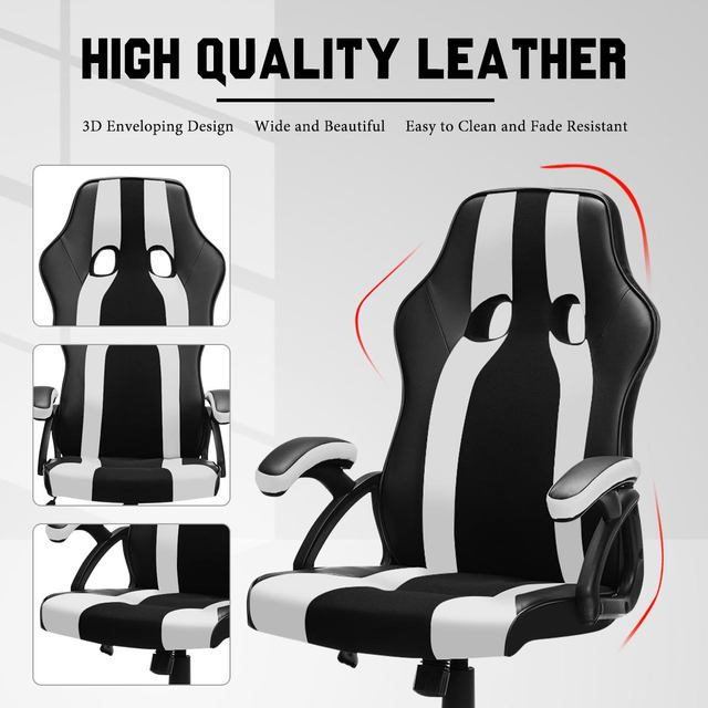 Gaming Office Chairs Executive Computer Chair Desk Chair Comfortable Seating Adjustable Swivel Racing Armchair Office Furniture 3