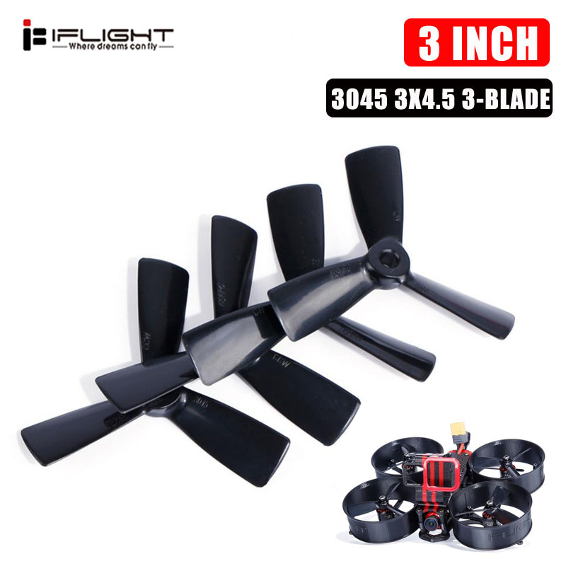 Newest iFlight MegaBee V2 Parts <font><b>3045</b></font> 3x4.5 3 Inch 3-Blade <font><b>Propeller</b></font> for RC Drone FPV Racing DIY Accessories image