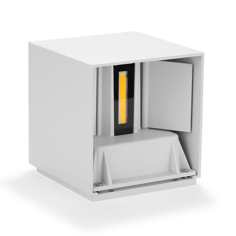Водонепроницаемый домашний декор 12 Вт 20 Вт 85 ~ 265V COB светодиодный настенный светильник для дома и улицы Настенные светильники для Спальня пр...