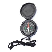 Карманные часы флип компас Портативный Кемпинг Пеший Туризм навигации компас Компасы автомобильные с Lanyarde
