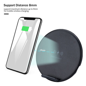 Image 3 - 10W Fast Wireless Charger For Samsung Galaxy S9 S9+ S8 S7 Note 9 S7 Edge USB Qi Charging Pad for iPhone XS Max XR X 8 Plus
