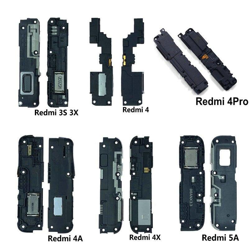 New Loud Speaker Buzzer Ringer Flex Replacement Parts For Xiaomi Redmi 3S 3X 4X 4 4pro 4A 4X 5 5A 5plus Phone