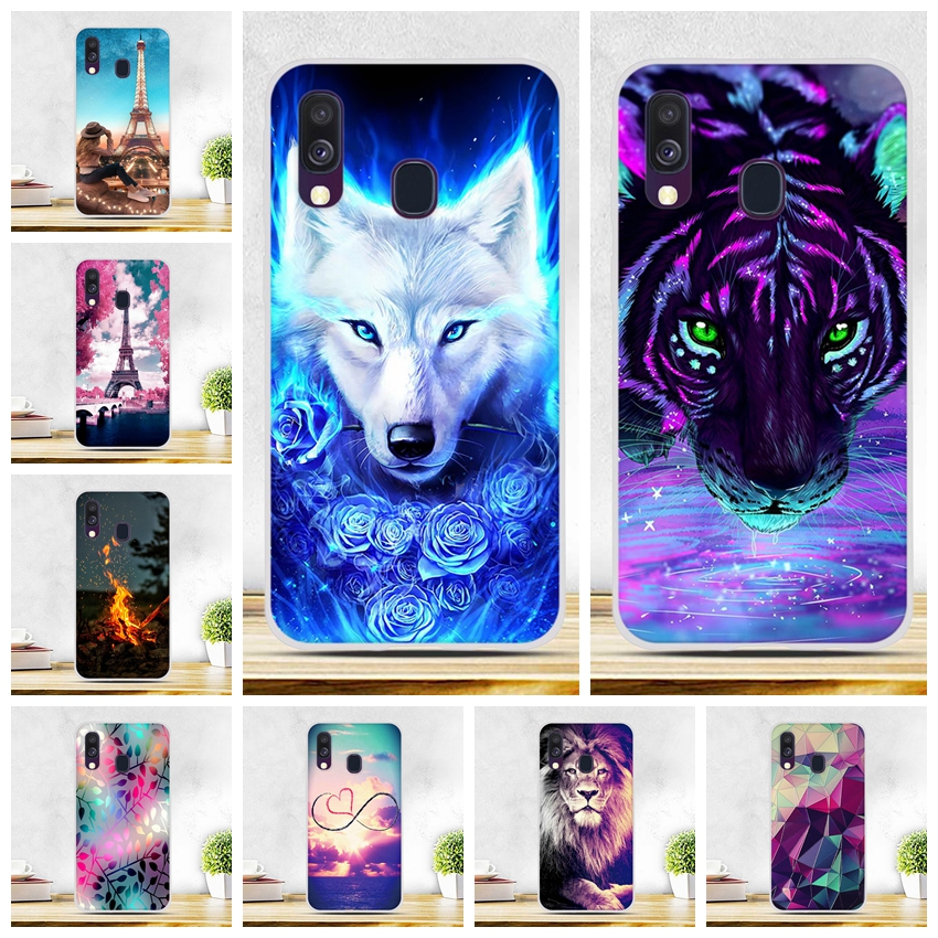 TPU <font><b>Case</b></font> For <font><b>Samsung</b></font> <font><b>Galaxy</b></font> <font><b>A40</b></font> <font><b>Case</b></font> Soft Silicone Back Cover Coque For Fundas <font><b>Samsung</b></font> <font><b>A40</b></font> A 40 <font><b>Phone</b></font> <font><b>Cases</b></font> A450F SM-A405F Shell image