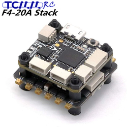 TCMMRC F4-20A Flight Controller Brushless ESC Flying stack ESC E2069 voltage 2-6 S Lipo for RC Drone FPV Racing 20x20mm