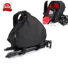 Waterproof Backpack Shoulder Black Camera Bag Case For Canon Eos 1300D 760D 750D 700D