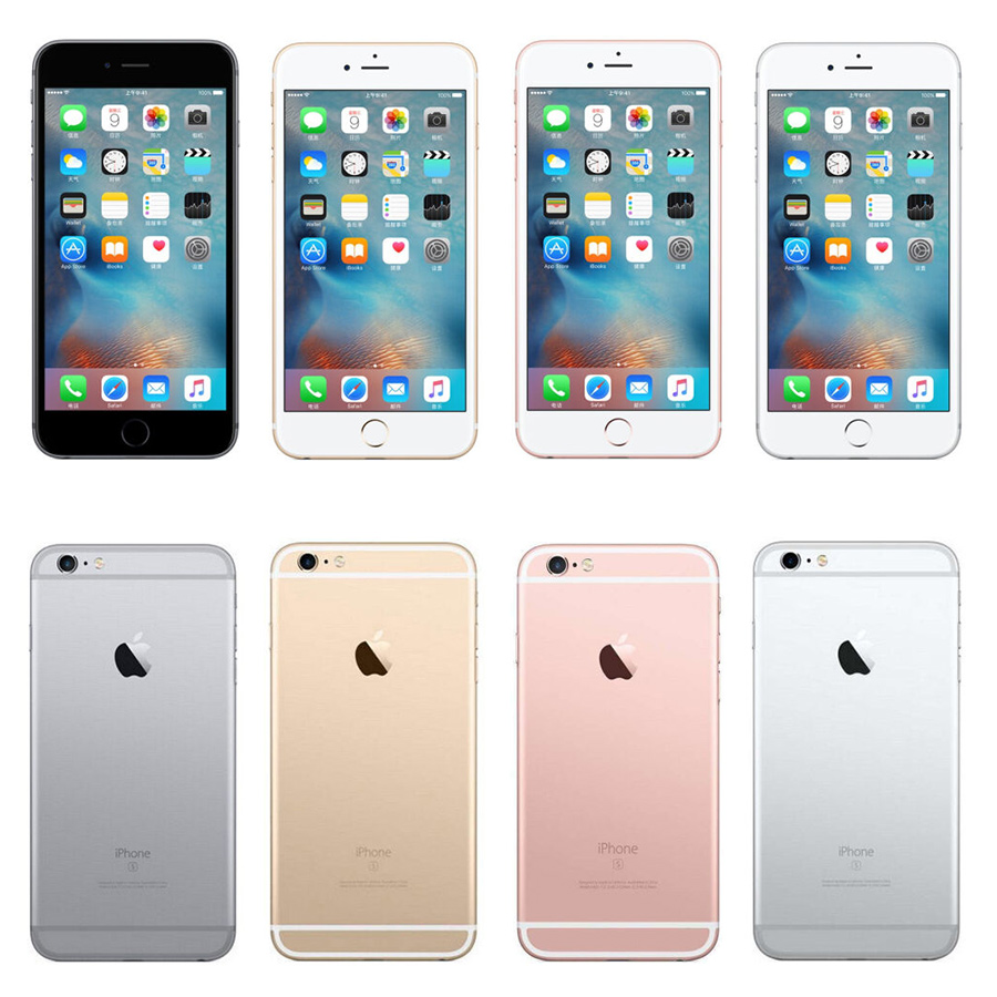 Apple iPhone 6s iOS Dual Core 4G LTE Unlocked Mobile Phone 4.7