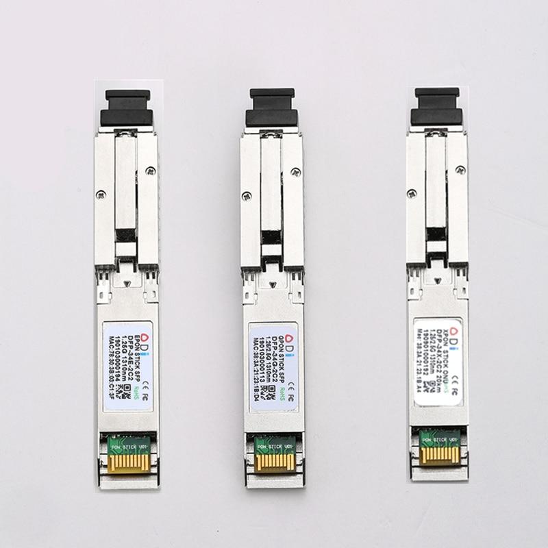 E/GXPON SFP ONU Stick With MAC SC Connector ( 1.244Gbps/2.55G)802.3ah 1490/1330nm Pon Module DDM 1.25/2.5G XPON  E/GXPON