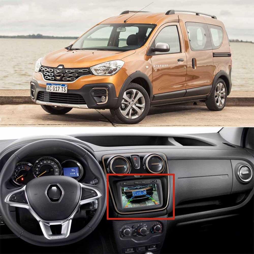 JIAYITIAN Adapter Cable For Renault Kangoo Stepway 2017 2018 2019/OEM Original Screen Rear View Camera/kit Backup Camera Parking