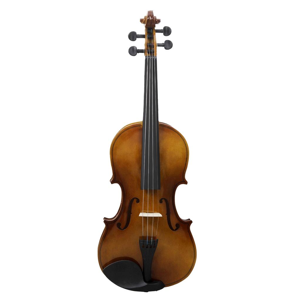 Vintage 4/4 Full Size Violine Geige Anfänger Kinder Studenten Kit Set