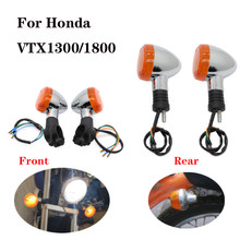Motorcycle Front&Rear Turn Signal LED Signaling Light for Honda Magna 250 750 Shadow 400 750 Steed VLX 400 600 1100 DLX VTX1300