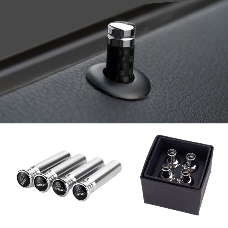 Car Door Lock Knob Button Pull Pin For <font><b>Mercedes</b></font> <font><b>Benz</b></font> Brabus W203 <font><b>W210</b></font> W124 W204 W168 GLK E C G GLE Class Interior <font><b>Accessories</b></font> image