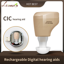 CN900B ミニ充電式補聴器ミニ聴覚アンプ耳サウンドアンプ補聴器充電式補聴器