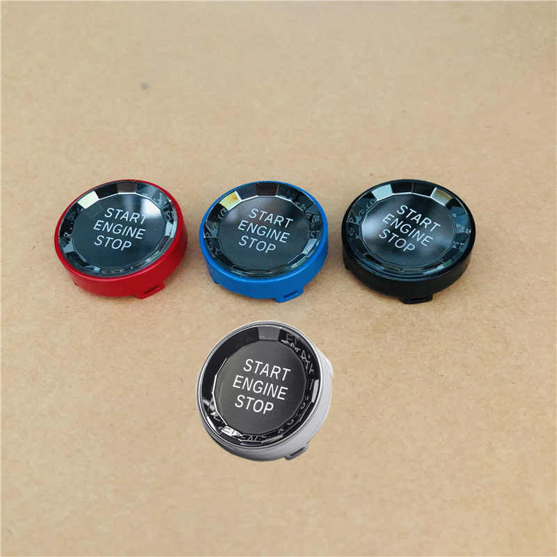 Кнопка включения и остановки двигателя в кристаллах для BMW X1 X5 E70 X6 E71 Z4 E89 E90 E91 E60 E87 E92