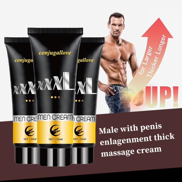 Penis XXL Krem erekcyjny do masażu penisa 80 ml Lubry 610334