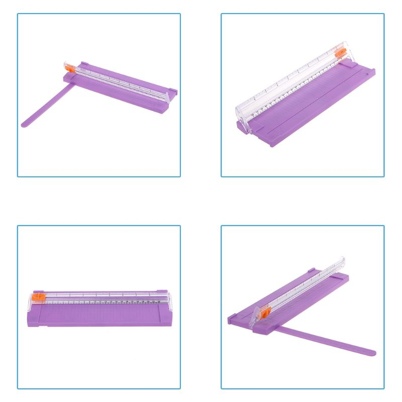 Mini Size A4- 9 Inch Precision Rotary Paper Trimmers Ruler Photo Paper Cutter Guillotine For Home School Office DXAC