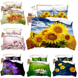 2020 New 3d Bedding Sets Yello