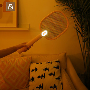 Image 3 - Youpin 3 Layers Mesh Electric Mosquito Swatter Electric Handheld Mosquito Killer Insect Fly Bug Mosquito Swatter Killer
