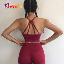 Seamless Sports Bra Top Fitness Women Sport Bh Woman Yoga Bras Active Wear Female Gym Brassiere Cross Tops Womens Clothing