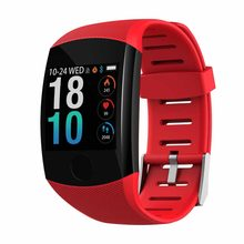 Waterproof Sport Smartwatch Heart Rate Blood Pressure Monitor Watch For IPhone For Android Touch Screen Smart Bracelet(China)