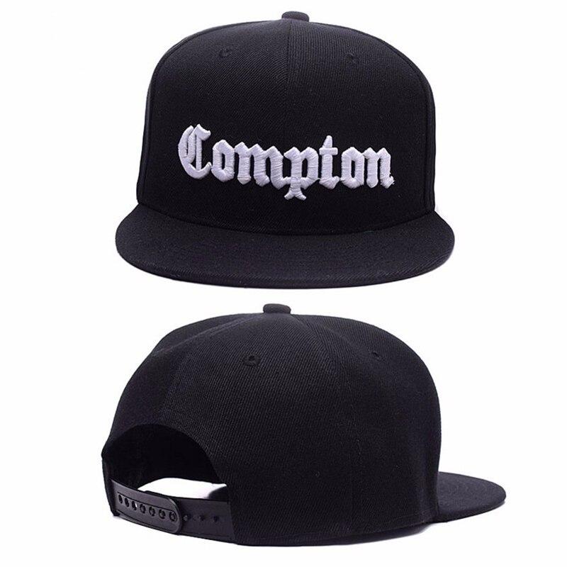 2019 New Mens Compton Snapback Hats Bone Gorras LSnapbacks Compton Hip Hop Baseball Cap For Adult Adjustable