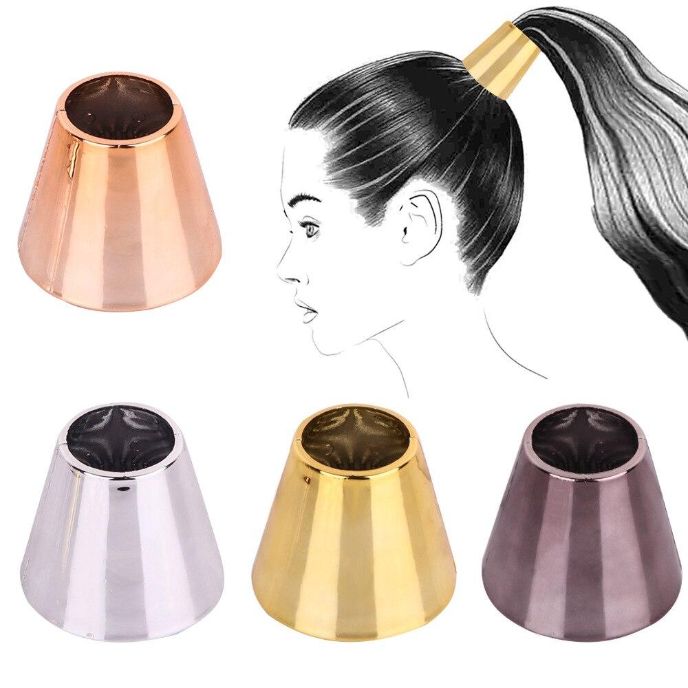 Модный зеркальный конус, рожковый конский хвост, пряжка, коготь для девочек, заколки для волос, веревка для волос, волшебный булочка, хвостик...