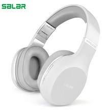 Salar N12 Wireless Headphones Bluetooth Headset Foldable Earphones Headphone With Microphone For PC computer mobile phone Mp3(China)